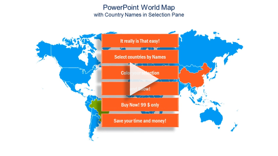 Powerpoint world map select countries by name never make mistakes gumiabroncs Images