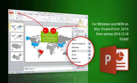 powerpoint world map slide 0